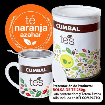 comprar té naranja azahar