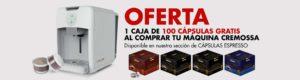 oferta maquina cremossa espresso