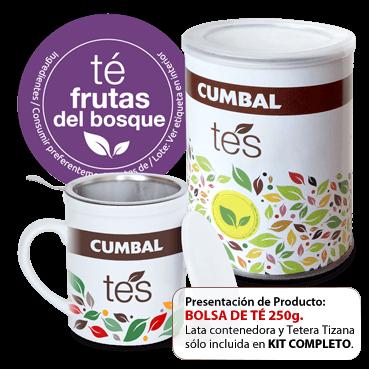 comprar té de frutas del bosque