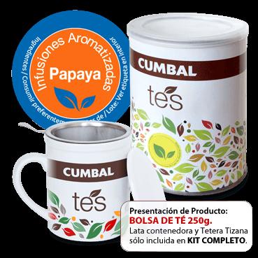 comprr bolsas de té de papaya