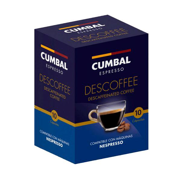 Café descafeinado 10 cápsulas