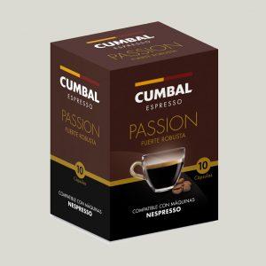 Café compatible con máquinas Nespresso