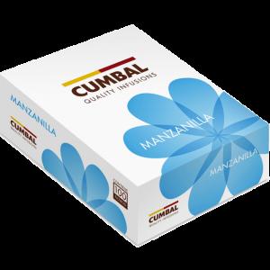 Caja de infusiones con manzanilla