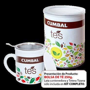 té cumbal 250 gramos
