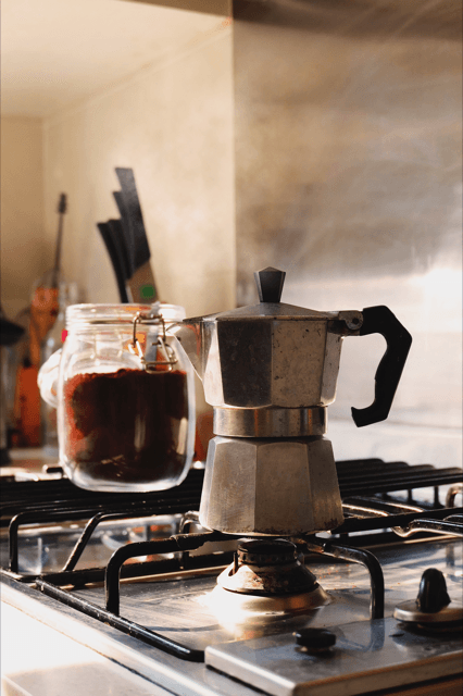 café frio con leche condensada