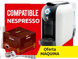 Cafetera compatible nespresso