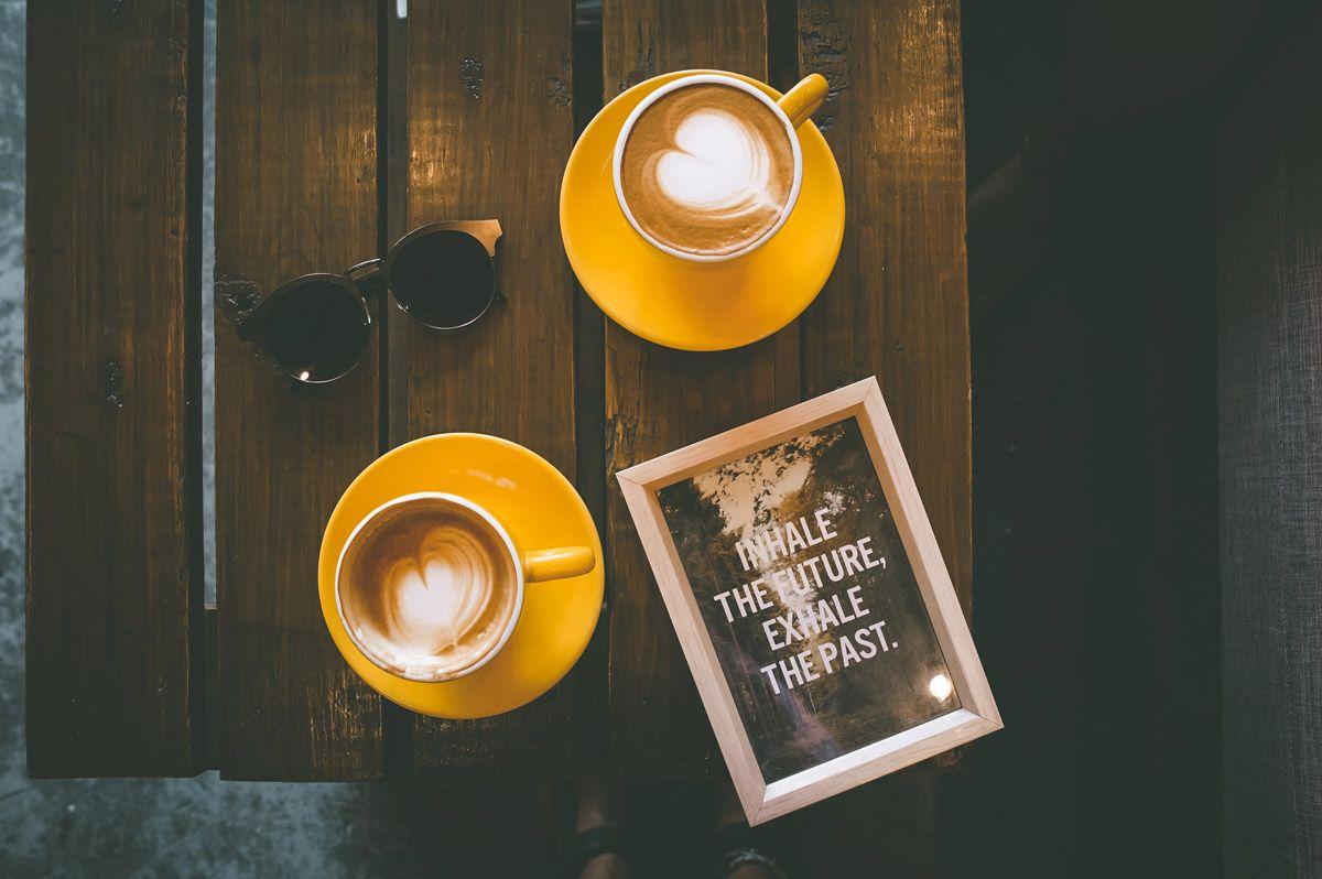 cafés en pareja